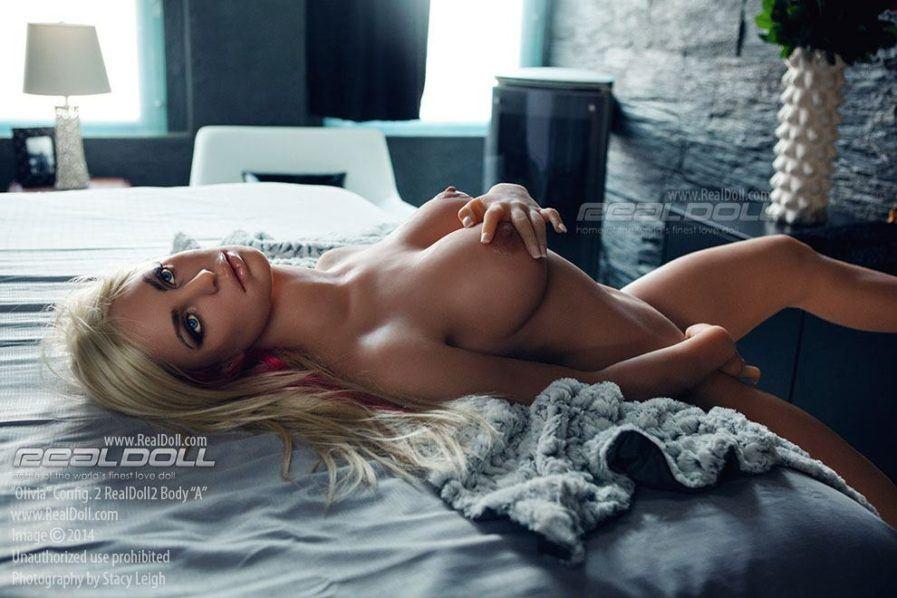Silikonpuppen - Modell Olivia